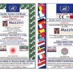 Certificati Mazzini Serramenti