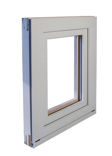 Finestre in legno alluminio mazzini serramenti for Preventivo finestre alluminio