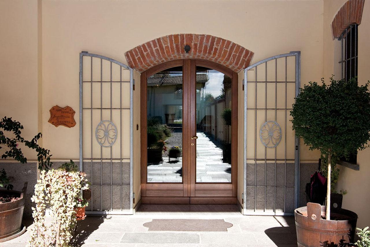 Porte d'Ingresso in Legno – Mazzini Serramenti