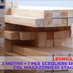magazzino del legno