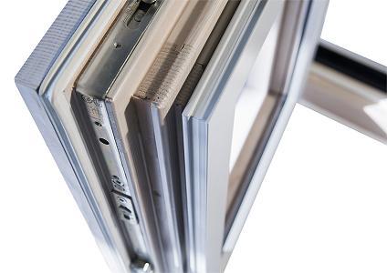 Finestre in legno alluminio mazzini serramenti - Costo finestre alluminio ...