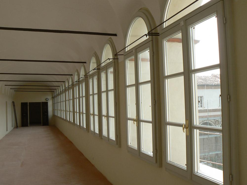 Finestre finestra epoca 68 Monastero San Sigismondo - Mazzini Serramenti