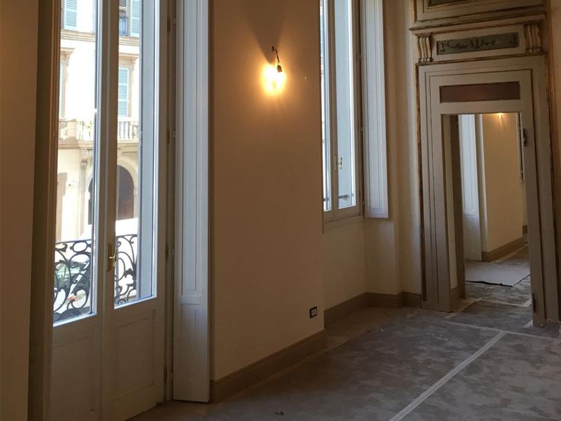 Ristrutturazione nel cuore di Milano vicino alla torre Velasca
